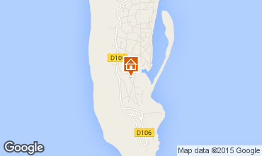 Carte Cap Ferret Villa 58472