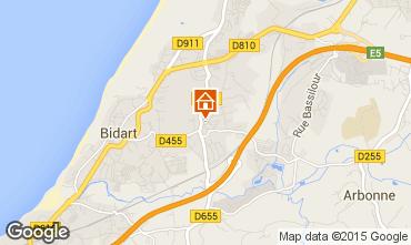 Carte Bidart Villa 97516