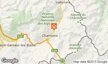 Carte Chamonix Mont-Blanc Chalet 682