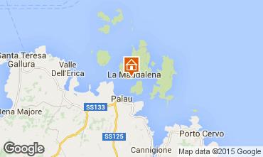 Carte La Maddalena Appartement 77763