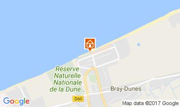 Carte Bray-Dunes Appartement 105330