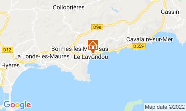 Carte Le Lavandou Maison 69513