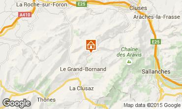 Carte Le Grand Bornand Appartement 68126