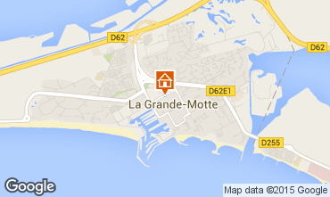 Carte La Grande Motte Studio 78017