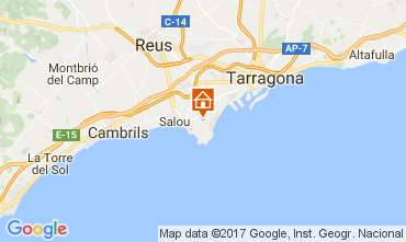Carte Salou Villa 107778