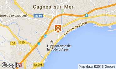 Carte Cagnes sur Mer Studio 56501