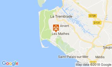 Carte Les Mathes Mobil-home 113719