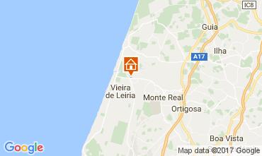 Carte Praia da Vieira Villa 49034