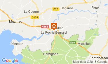 Carte La Roche-Bernard Gite 114627