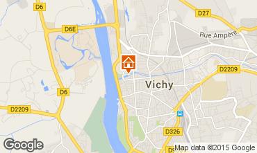 Carte Vichy Appartement 92716