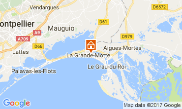 Carte La Grande Motte Maison 112770