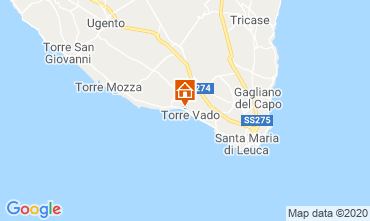 Carte Ugento - Torre San Giovanni Appartement 118768
