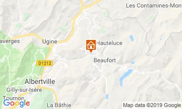 Carte Areches Beaufort Chalet 117764