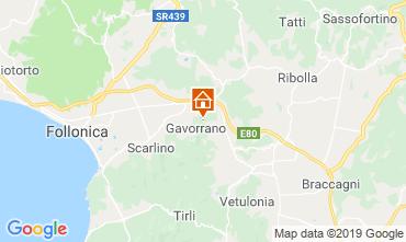 Carte Gavorrano Villa 118750
