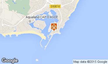 Carte Cap d'Agde Appartement 42499