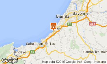 Carte Biarritz Appartement 96607