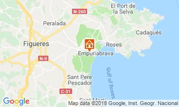 Carte Empuriabrava Villa 61447