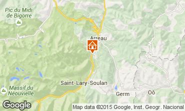 Carte Saint Lary Soulan Appartement 79767