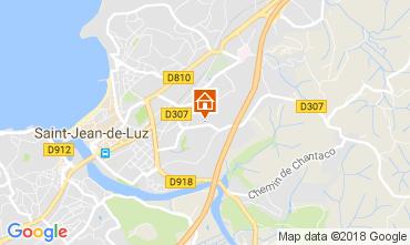 Carte Saint Jean de Luz Appartement 112867