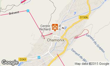 Carte Chamonix Mont-Blanc Appartement 66847