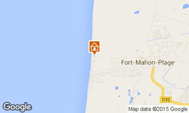 Carte Fort Mahon Appartement 81582
