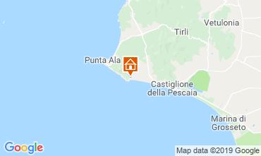 Carte Castiglione della Pescaia Appartement 89159