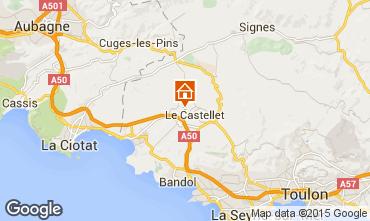 Carte Le Castellet Villa 95709