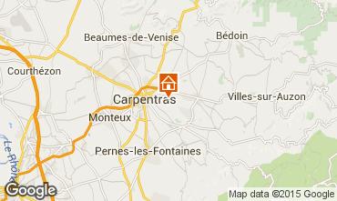 Carte Carpentras Villa 64680