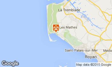 Carte La Palmyre Mobil-home 81017