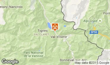 Carte Val d'Isère Appartement 3351