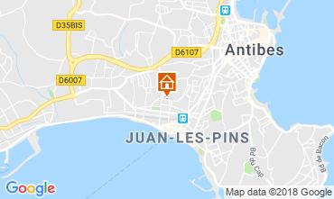 Carte Juan les Pins Appartement 115721