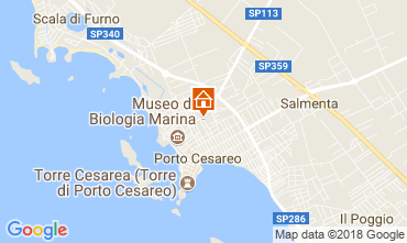 Carte Porto Cesareo Villa 114807