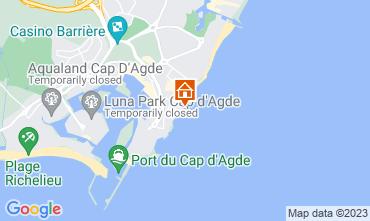 Carte Cap d'Agde Appartement 20368