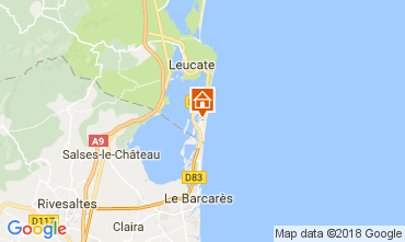 Carte Port Leucate Appartement 113275