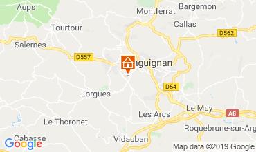 Carte Draguignan Villa 119257