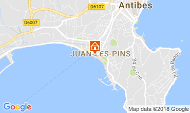 Carte Juan les Pins Appartement 65540