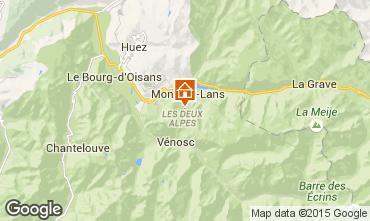 Carte Les 2 Alpes Appartement 73750