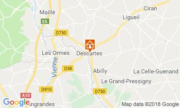 Carte Saint Jean de Monts Mobil-home 75895