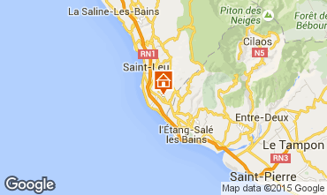 Carte Saint Leu Villa 73883