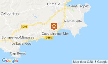 Carte Cavalaire-sur-Mer Appartement 116521