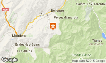 Carte La Plagne Appartement 15900