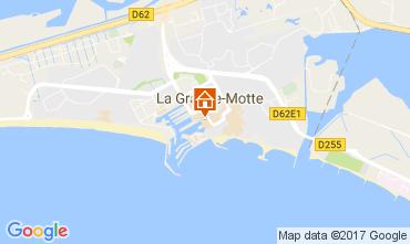 Carte La Grande Motte Studio 110138
