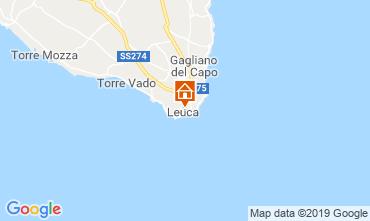 Carte Santa Maria di Leuca Villa 118108