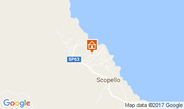 Carte Scopello Villa 80024
