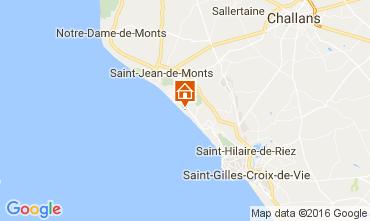 Carte Saint Jean de Monts Appartement 41661