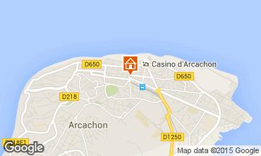Carte Arcachon Appartement 75789
