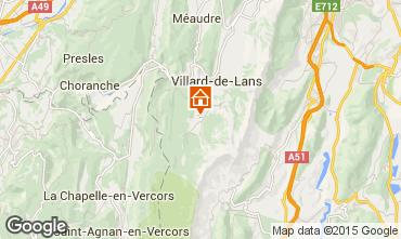 Carte Villard de Lans - Corrençon en Vercors Chalet 3647
