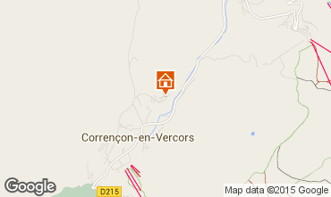 Carte Villard de Lans - Corren�on en Vercors Chalet 3647