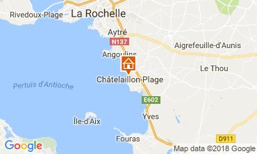 Carte Châtelaillon plage Gite 113513