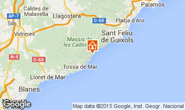 Carte Tossa de Mar Appartement 81181